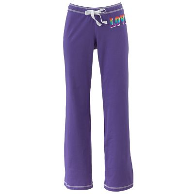 Derek Heart Love Dorm Pants - Juniors