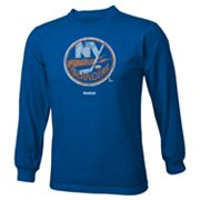 Reebok New York Islanders Distressed Logo Tee - Boys 8-20