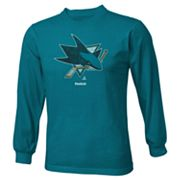 Reebok San Jose Sharks istressed Logo Tee - Boys 8-20