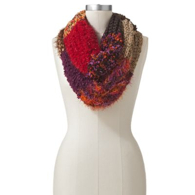 SONOMA life + style Mixed-Media Striped Infinity Scarf