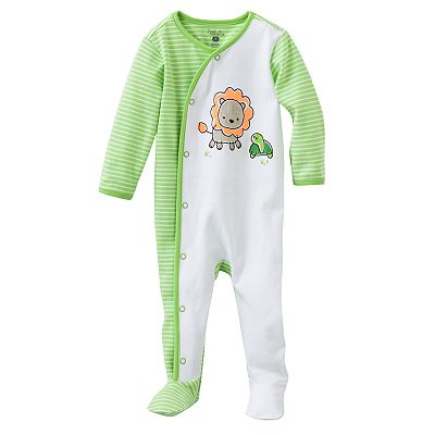 First Moments Striped Neon Animal Sleep and Play - Baby