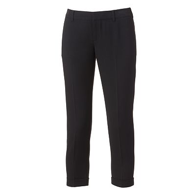 Candie's Color Roll-Cuff Crop Pants - Juniors