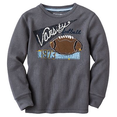 SONOMA life + style Varsity Football Thermal Tee - Boys 4-7x