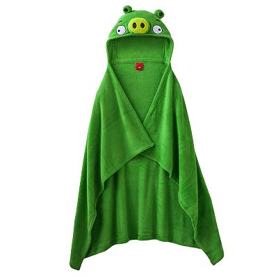 Angry Birds Space Pig Hooded Fleece Blanket - Boys 8-20