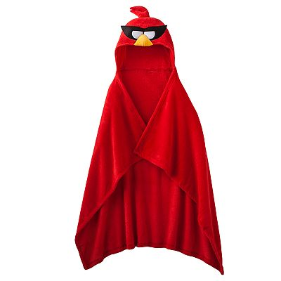 Angry Birds Space Hooded Fleece Blanket - Boys 8-20