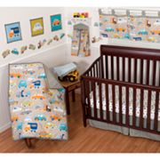 Sumersault Gridlock 10-pc. Crib Set