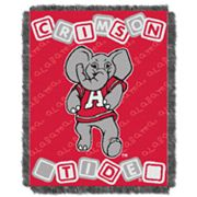 Alabama Crimson Tide Baby Jacquard Throw By Northwest