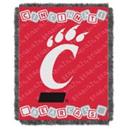 Cincinnati Bearcats Baby Jacquard Throw by Northwest
