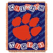 Clemson Tigers Baby Jacquard Throw by Northwest