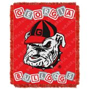 Georgia Bulldogs Baby Jacquard Throw by Northwest