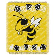 Georgia Tech Yellow Jackets Baby Jacquard Throw by Northwest