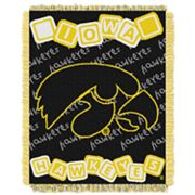 Iowa Hawkeyes Baby Jacquard Throw by Northwest