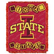 Iowa State Cyclones Baby Jacquard Throw by Northwest