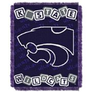 Kansas State Wildcats Baby Jacquard Throw by Northwest