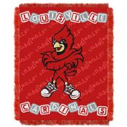 Louisville Cardinals Baby Jacquard Throw by Northwest