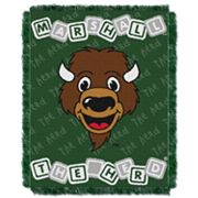 Marshall Thundering Herd Baby Jacquard Throw by Northwest