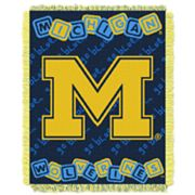 Michigan Wolverines Baby Jacquard Throw by Northwest