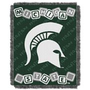 Michigan State Spartans Baby Jacquard Throw by Northwest