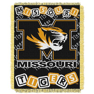Missouri Tigers Baby Jacquard Throw by Northwest
