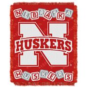 Nebraska Cornhuskers Baby Jacquard Throw by Northwest