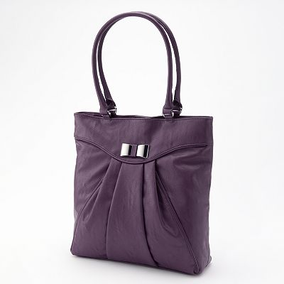 ELLE Isabelle Pleated Tote