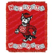North Carolina State Wolfpack Baby Jacquard Throw by Northwest