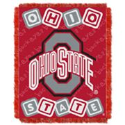 Ohio State Buckeyes Baby Jacquard Throw by Northwest