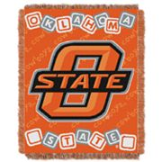 Oklahoma State Cowboys Baby Jacquard Throw by Northwest