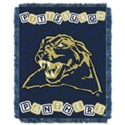 Pitt Panthers Baby Jacquard Throw by Northwest