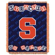 Syracuse Orange Baby Jacquard Throw by Northwest