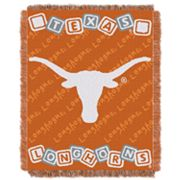 Texas Longhorns Baby Jacquard Throw by Northwest