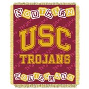 USC Trojans Baby Jacquard Throw by Northwest