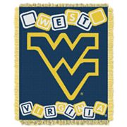 West Virginia Mountaineers Baby Jacquard Throw by Northwest