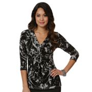 daisy fuentes Splatter Empire Top