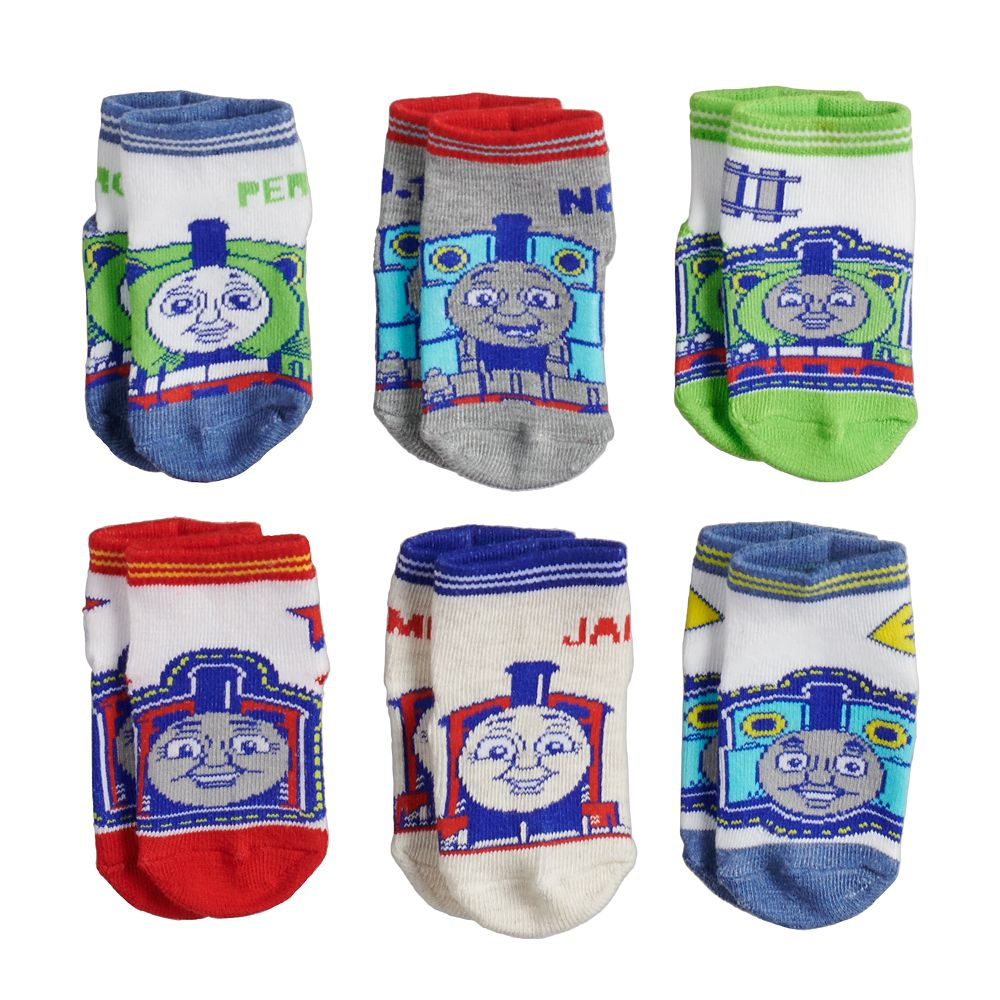 Thomas /& Friends Baby Boys 6-pair Socks