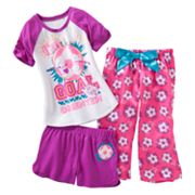 SO Soccer Pajama Set - Girls 7-16