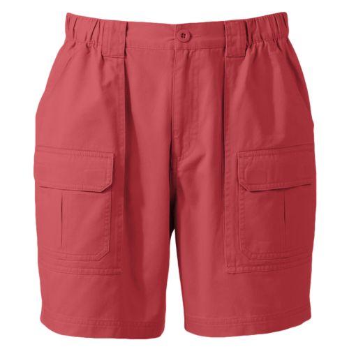 Croft & Barrow® Side Elastic Twill Cargo Shorts - Men