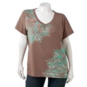 SONOMA life + style Medallion Tee - Women's Plus