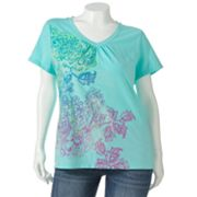SONOMA life + style Everyday Paisley Tee - Women's Plus