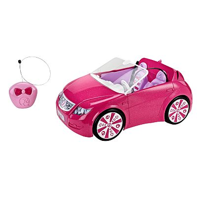 Barbie RC Convertible by Mattel