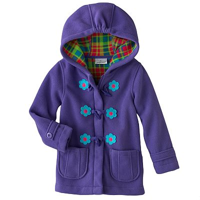 Jumping Beans Floral Fleece Jacket - Toddler