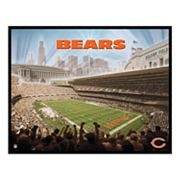 Soldier Field Canvas Art