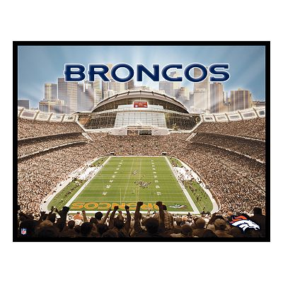 Sports Authority Field at Mile High Canvas Art