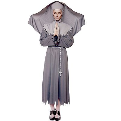 Sister Spirit Nun Costume - Adult