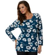 daisy fuentes Printed Tee - Women's Plus