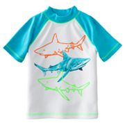 Jumping Beans Shark Raglan Rash Guard - Boys 4-7x