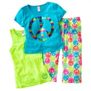 SO Peace Pajama Set - Girls 7-16