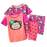 Jumping Beans Monkey and Polka-Dot Pajama Set - Baby