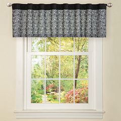 Lush Decor Leopard Window Valance