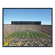 Michigan Stadium Canvas Wall Art